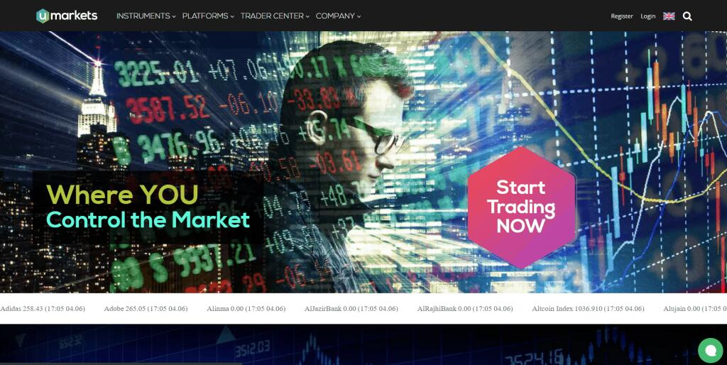 Umarkets Forex Broker