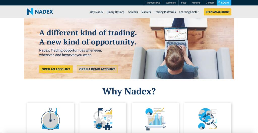 Nadex Forex Broker